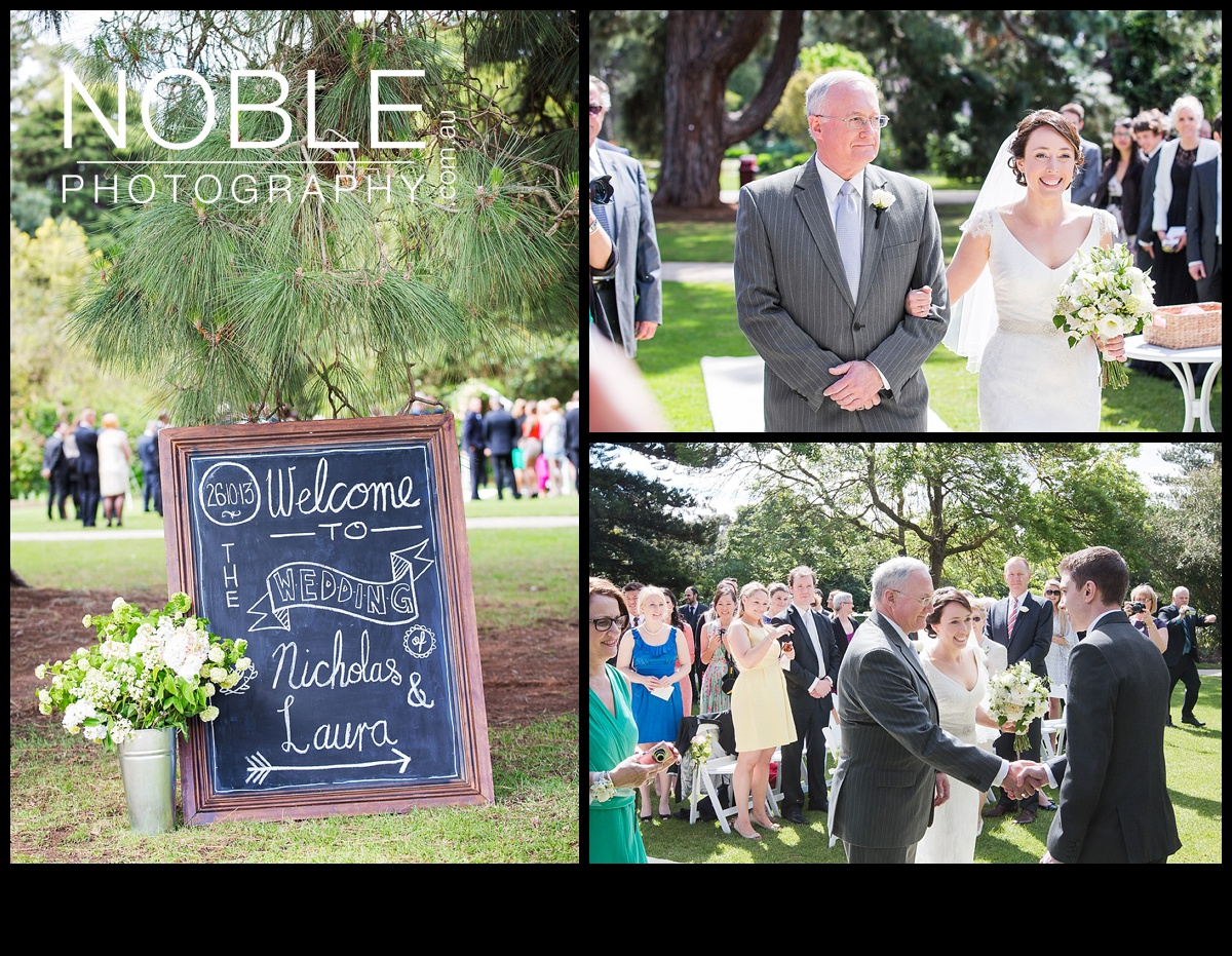 werribee mansion garden wedding