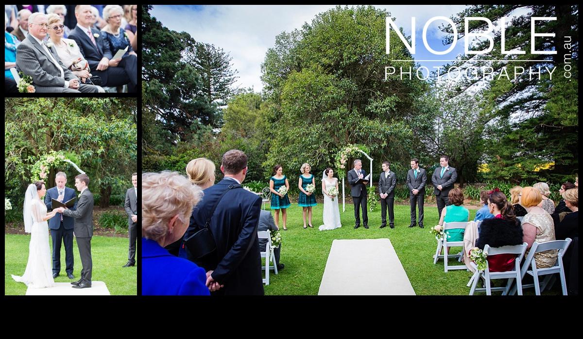 Werribee Mansion Garden Wedding