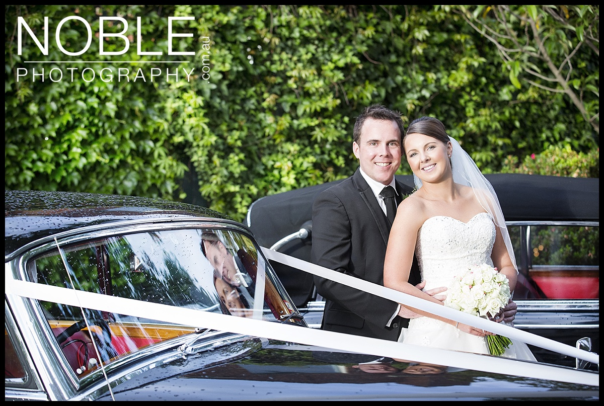 Wedding Car at Butleigh Wootton