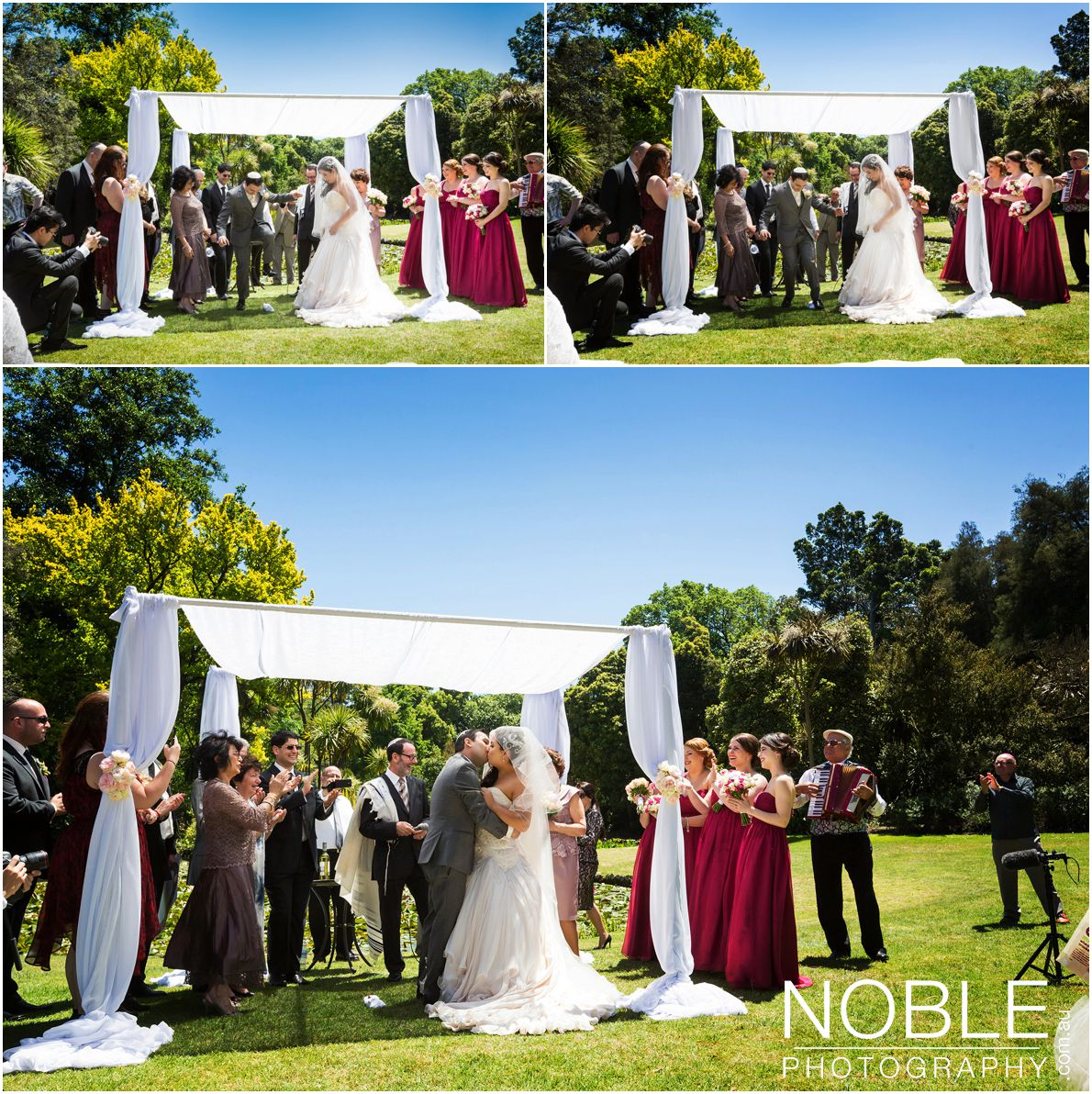 Wedding photography melbourne noble photography - Breakable wedding glass ...