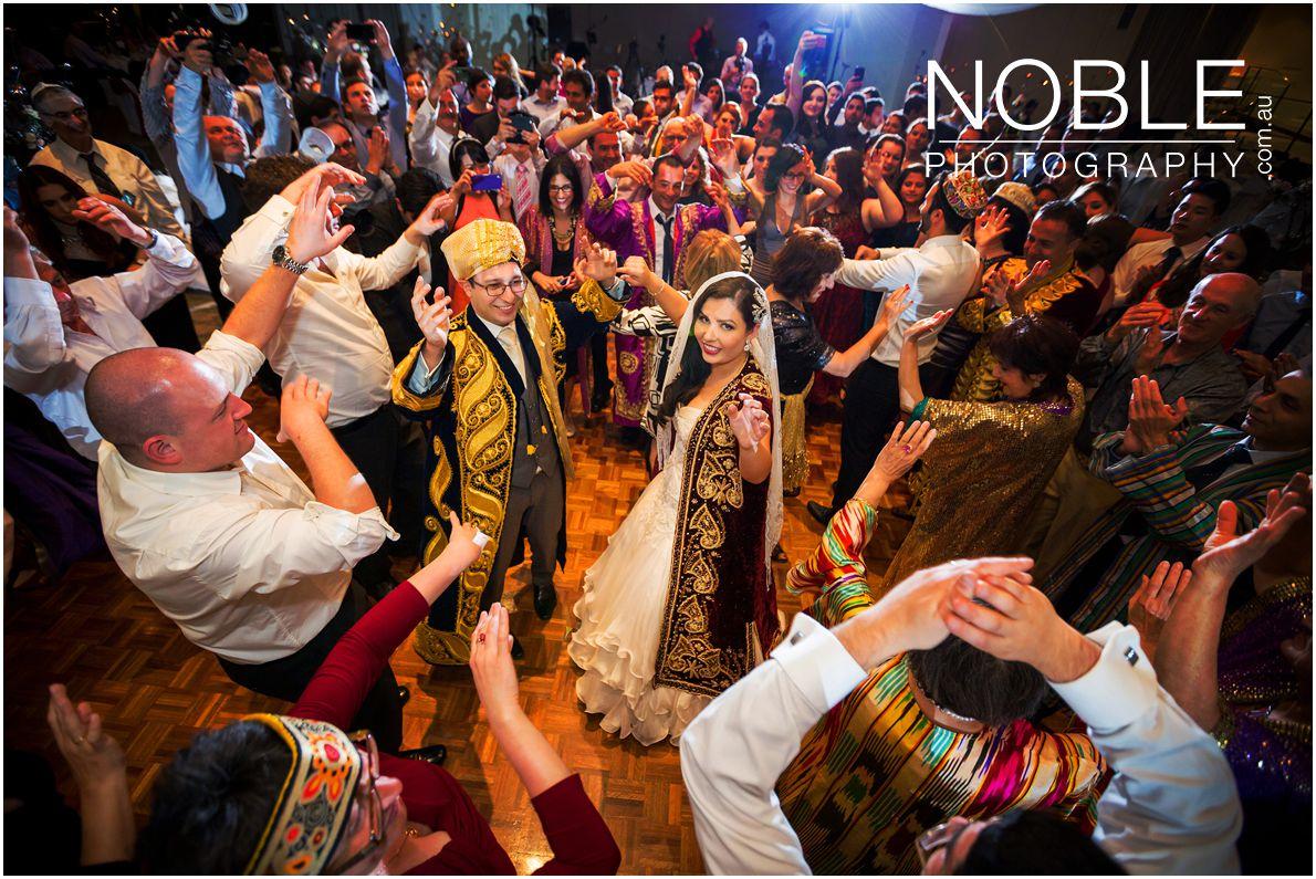 Jewish Wedding Reception Celebrations dancing