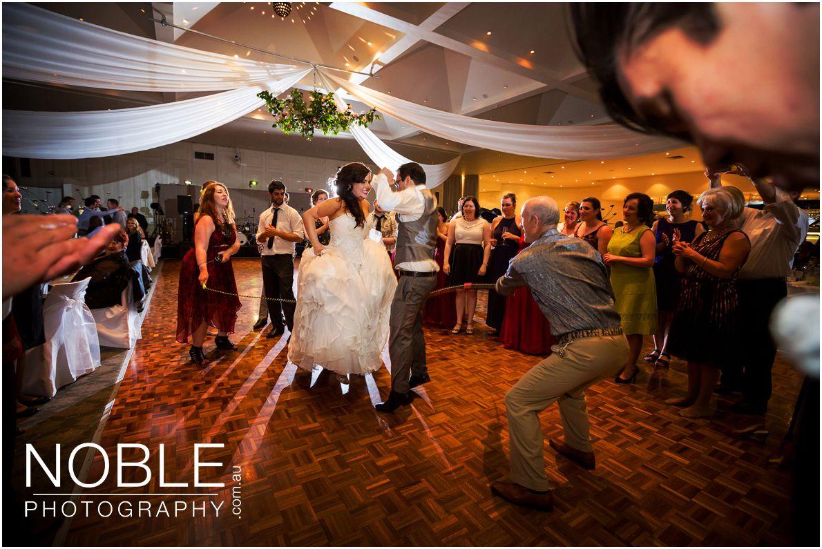 Traditional Jewish Wedding Reception Skipping Rope
