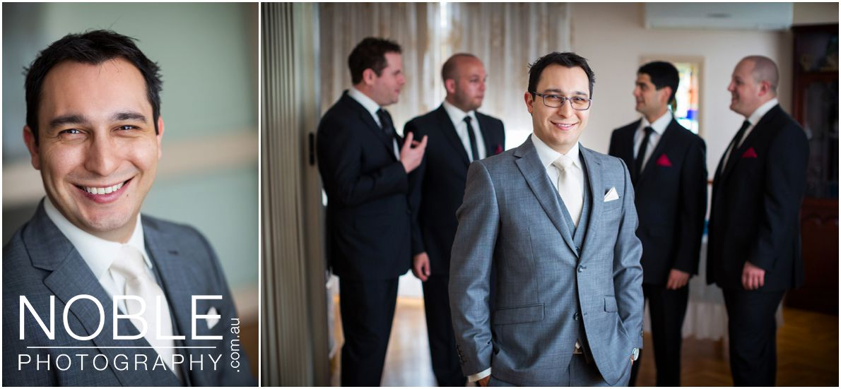 Melbourne groom portraits